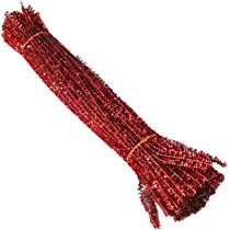 10-5,000 x YELLOW chenille craft stems pipe cleaners 30cm long,6mm wide