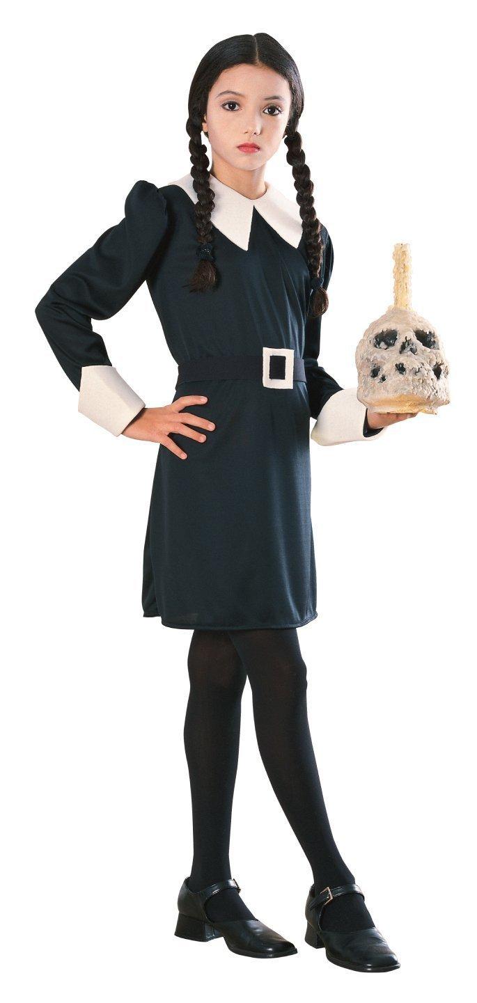 Amazon.com: Addams Family Child's Wednesday Addams Costume, Small ...