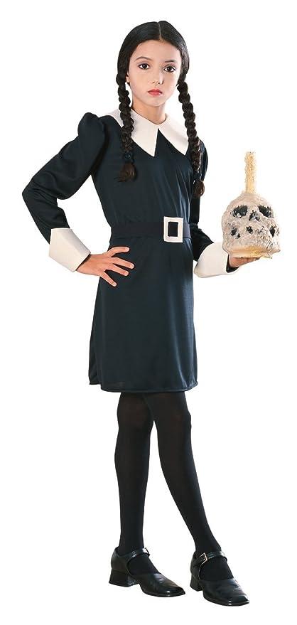 5fee46df756b Amazon.com: Addams Family Child's Wednesday Addams Costume, Large: Toys &  Games
