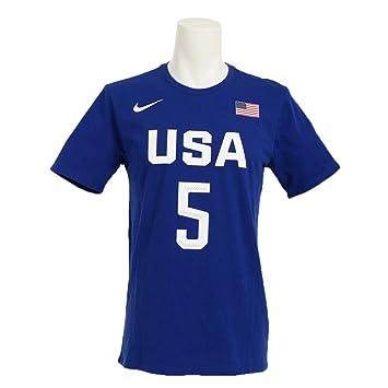 De Tee Camiseta Rio Usa Nike Corta Jersey Basketball Manga Replica 0YxXq