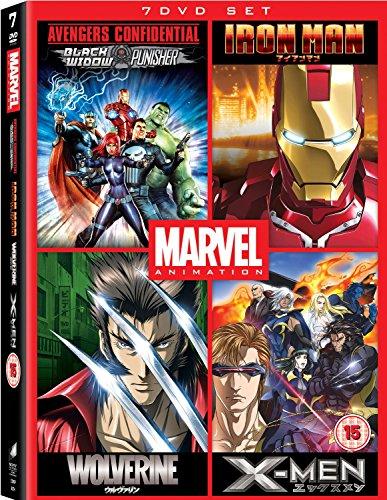 marvel anime dvd - 6