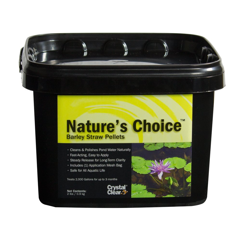 CrystalClear Nature's Choice Barley Straw Pellets, 2 Pounds
