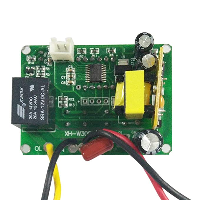 ARCELI Módulo Controlador de Temperatura LED Digital, Interruptor ...
