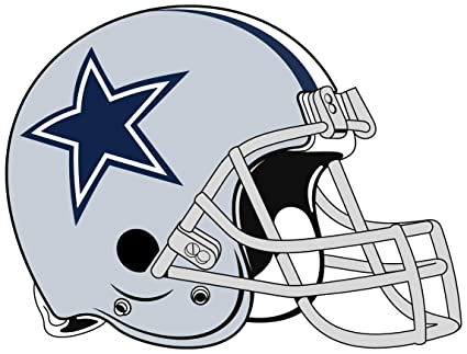 f51aec63 Image Unavailable. Image not available for. Color: Dallas Cowboys Helmet  Sticker Vinyl ...