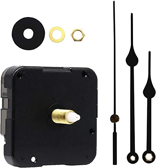 """Original Youngtown 12888 High Torque /""""I/"""" Shaft Clock Movement With Hands,3//10 In"""