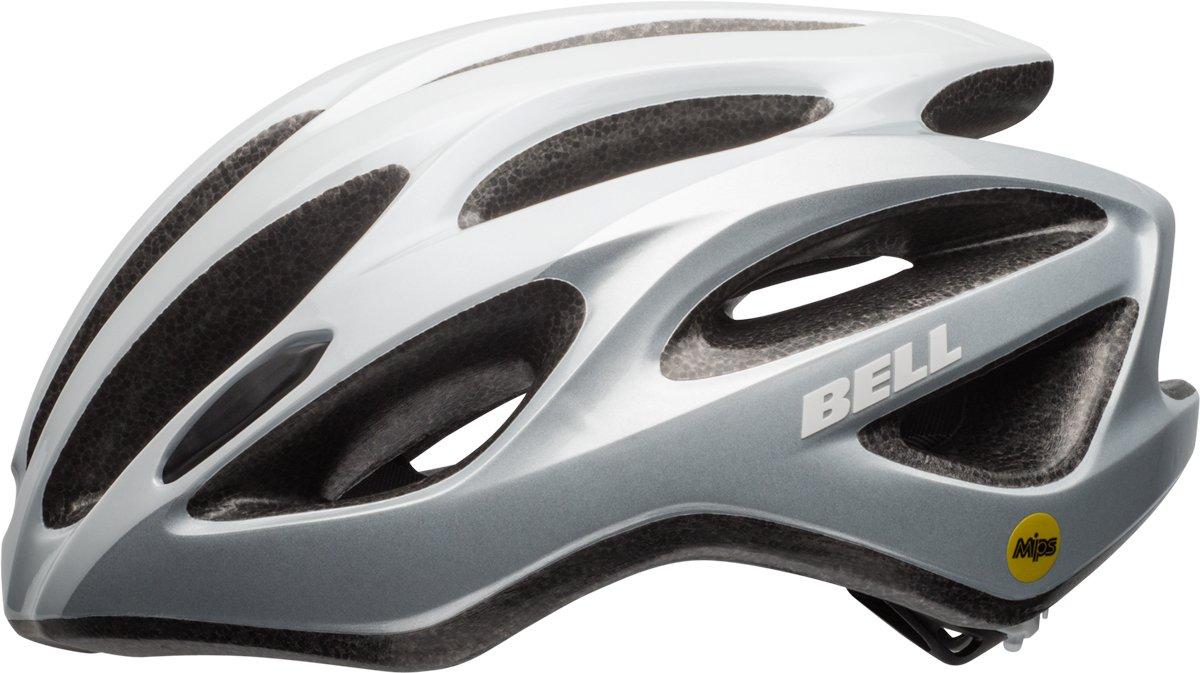 BELL Draft MIPS Fahrrad Helm Gr. 54-61cm weiß Silber 2019