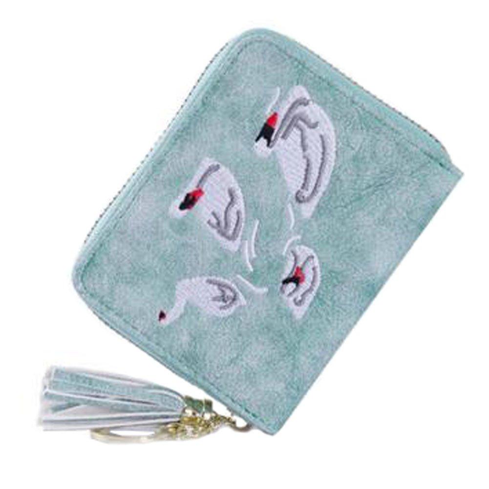 Mode carte de crédit Sac Holder Organizer Wallet, 22 fentes de cartes, B Blancho Bedding
