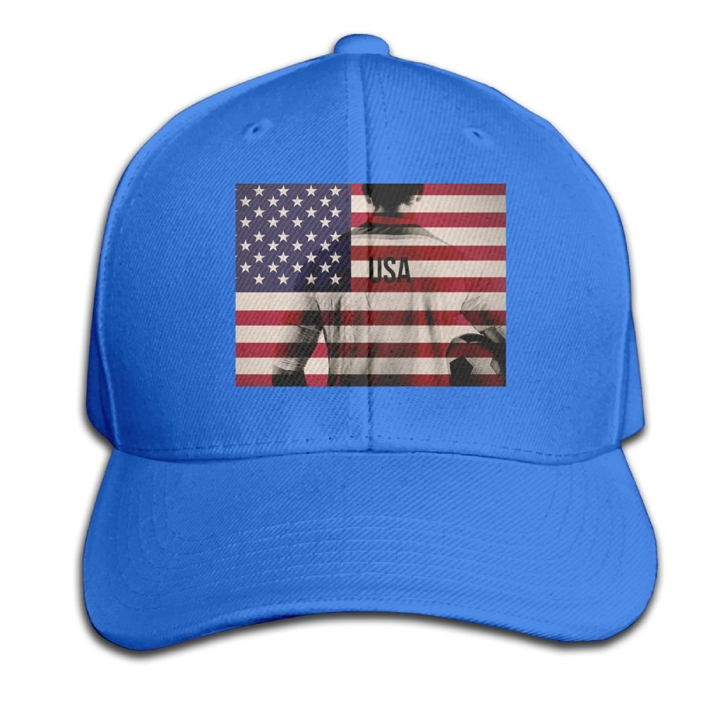Baseball Hats USA Flag Soccer Player Snapback Sandwich Cap Adjustable Peaked Trucker Cap
