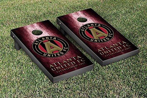 Atlanta United FC MLS Soccer Regulation Cornhole Game Set Museum Version by Victory Tailgate
