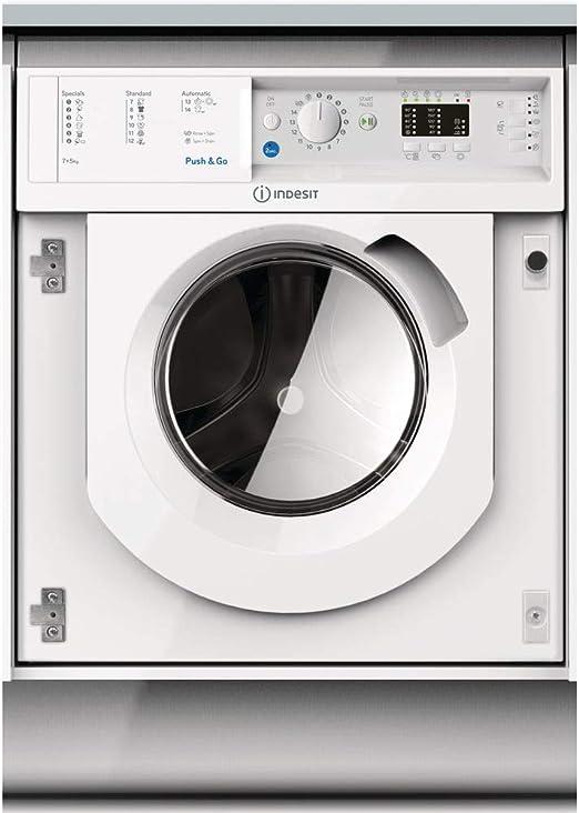 Indesit BI WDIL 75125 EU lavadora Carga frontal Blanco B ...