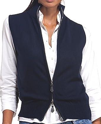 273a0a4a63ccaf Balldiri 100% Cashmere Kaschmir Damen Kurzarm Weste modisch und sehr  feminin chic 2-fädig