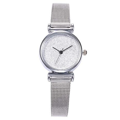 Amazon.com: Vansvar - Reloj de pulsera para mujer, correa de ...