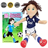 Soccer Girl Cassie Read & Play Doll and Book Set by Go! Go! Sports Girls