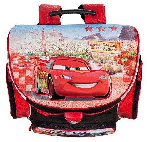 Disney Cars Schulranzen Set 7tlg. Sporttasche Regen/Sicherheitshülle Federmappe Scooli CAGR8252 rhLc1ltT0