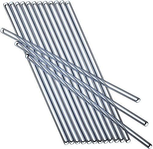 Glass Rods for Stirring 8.7 inch - Best Glass Stirring Rods 220 mm - Pack of 10 Stirring Sticks - Glass Rods Glass - Glass Stirrers - Glass Rod - Glass Stir Rod