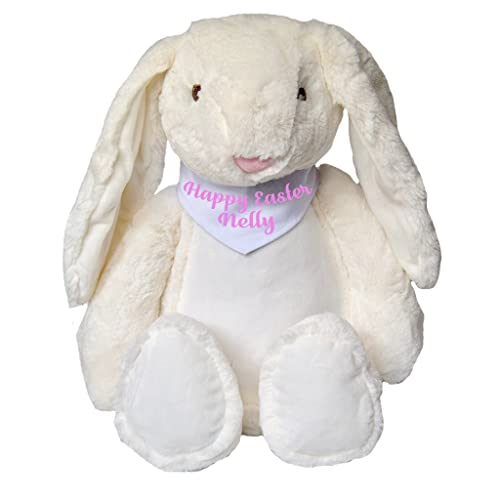 Personalised happy easter name bunny teddy personalised easter gifts personalised happy easter name bunny teddy personalised easter gifts rabbit bunny gifts easter teddy baby gifts negle Choice Image