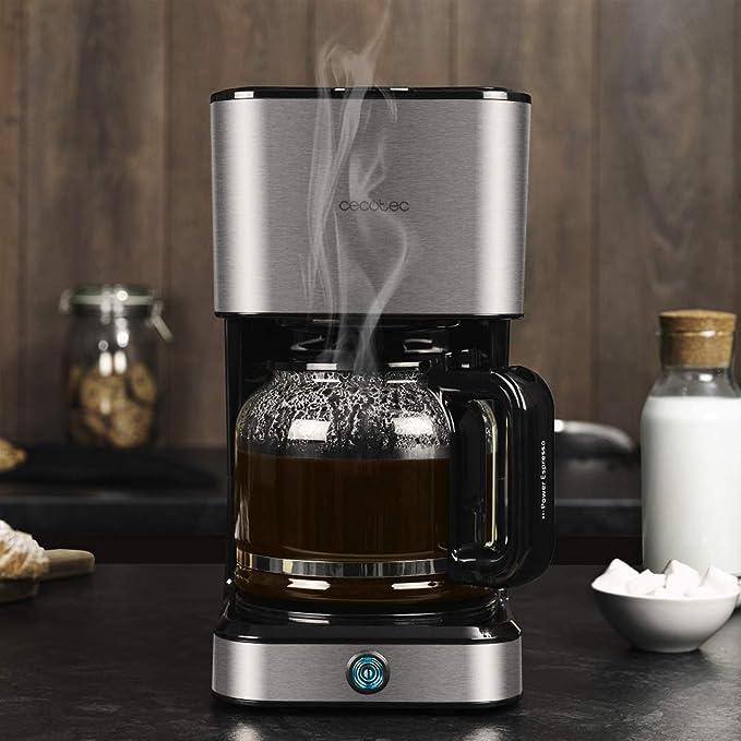 Cecotec Cafetera de Goteo Coffee 66 Heat. Tecnología ExtemeAroma, Capacidad de 1,5L, Jarra Termoresistente: Amazon.es: Hogar