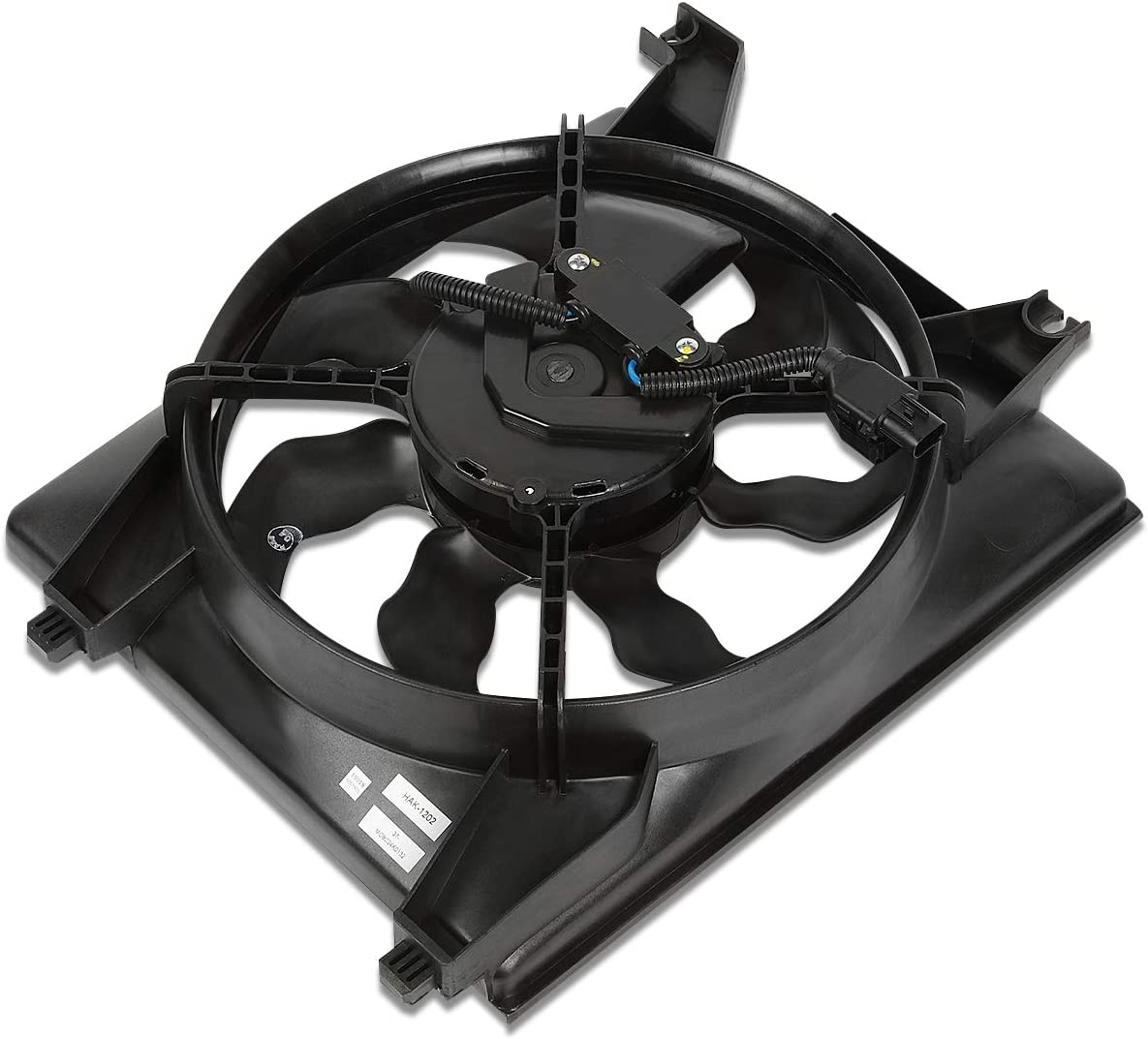 HY3120100 OE Style AC Condenser Cooling Fan Assembly Replacement for Accent 06-11