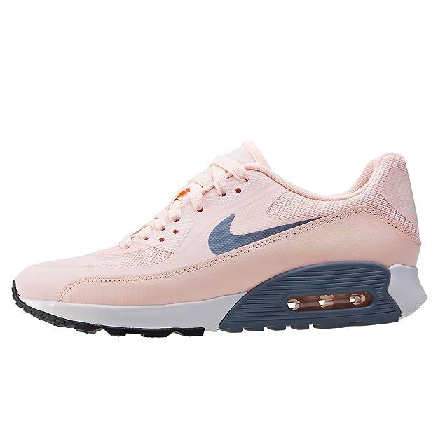 Nike W Air Max 90 Ultra 2.0, Zapatillas Para Mujer, Rosa (Sunset Tint/Cool Grey/Summit White/Black), 40.5 EU