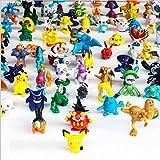 Baloray Model 1 Complete Set Per 144pcs Pokemon Action Figures Multicolor, 144pcs