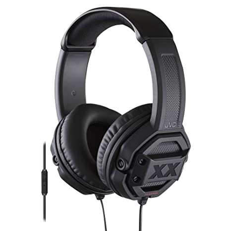 Amazon.com: JVC HAMR60X XX Xtreme Bass Headset, Black: JVC: Home