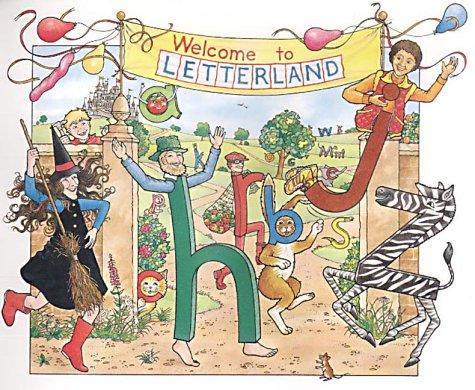 amazon letterland abc richard carlisle lyn wendon words