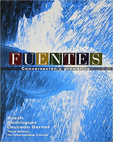 Amazon fuentes conversacion textbook cd workbook answer fuentes conversacion textbook cd workbook answer key textbook spanish edition spanish 3rd edition fandeluxe Gallery