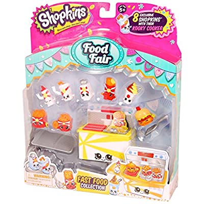 Shopkins Season 3 Food Fair Pack - Fast Food Collection: Toys & Games