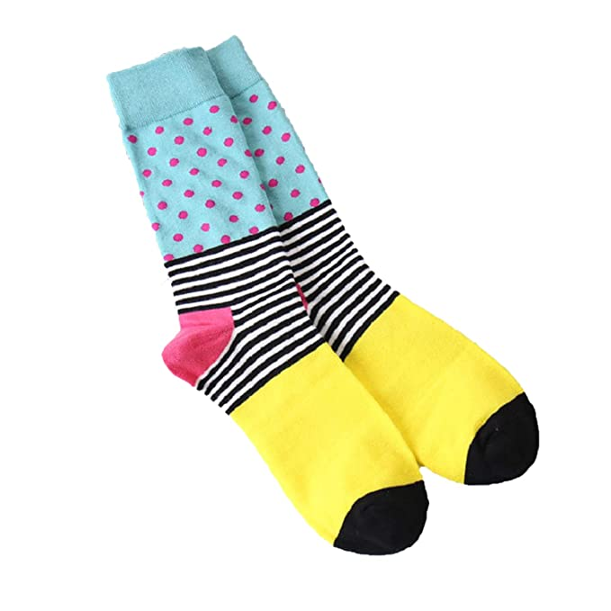 MERRYDAY Mens Cotton Crew Calcetines Socks