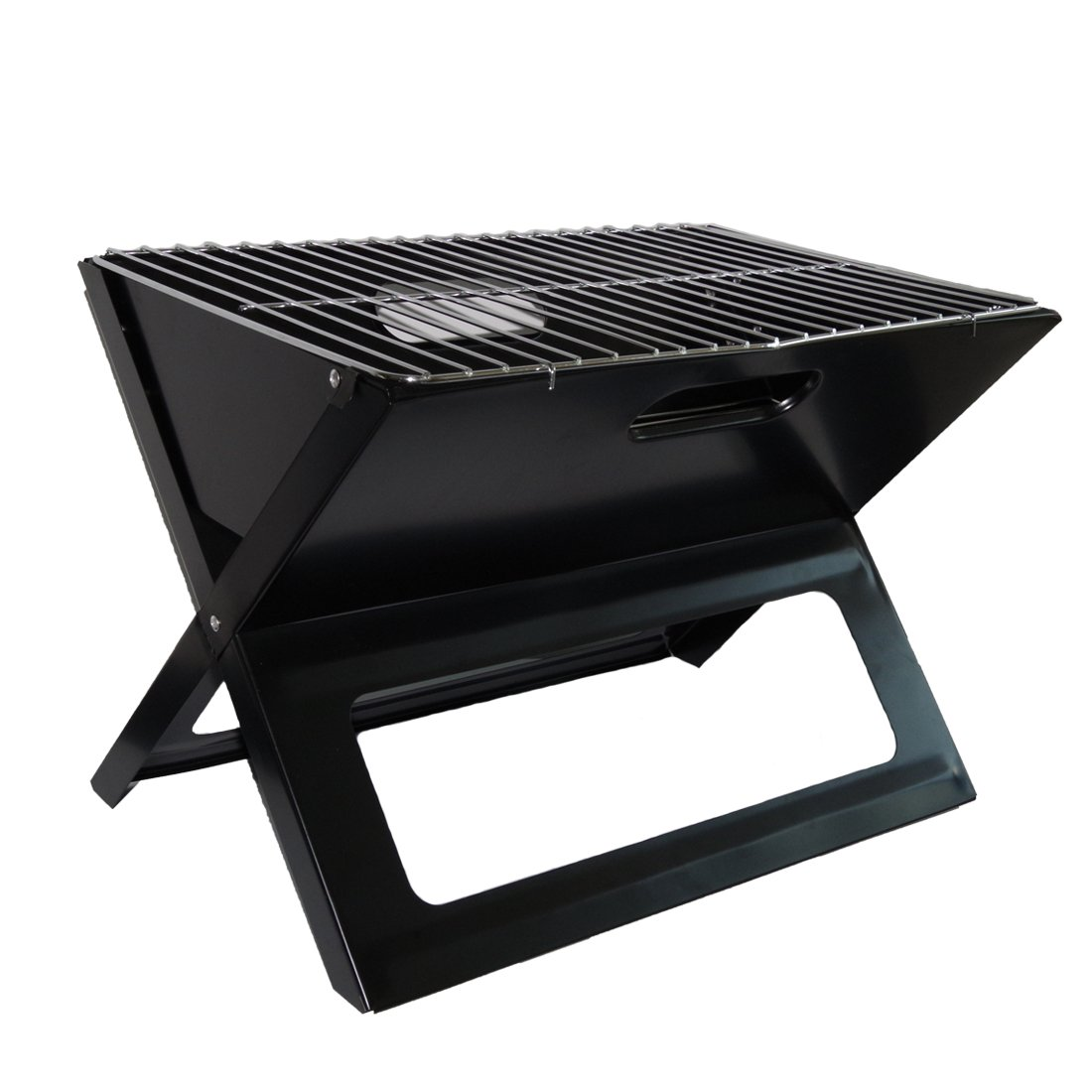Bermu Foldable Notebook Charcoal Grill X-Type for Outdoors with 1 Mesh Clip and Handbag Ltd
