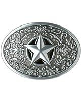 "Western Express ""Western Star"" Metal Belt Buckle"
