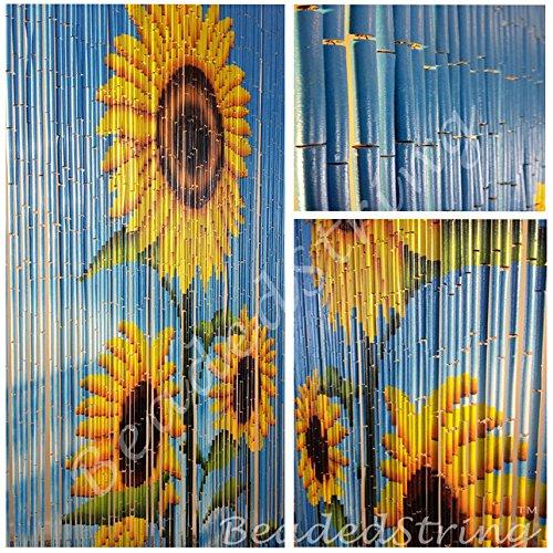 Natural Bamboo Beaded Curtains - 2
