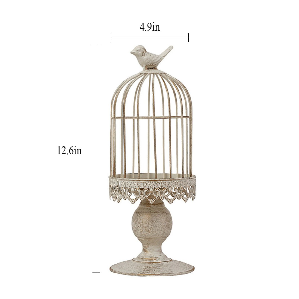 prima qualità ai consumatori LYQZ Portavasi da Fiori Continental Continental Continental Iron Decoration Bird Cage Candle Taiwan Matrimonio Paese Americano Romantico Compleanno Prodotti (Dimensioni   S.)  una marca di lusso