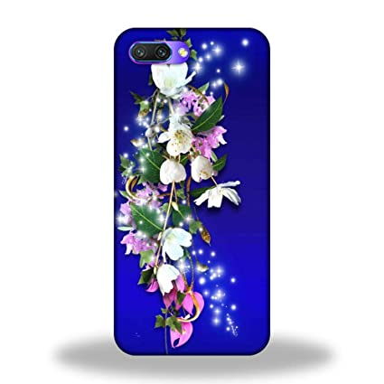 huge discount ab2c6 586ee Luxocase Oppo A3s Flower Painting Art Back Case Cover: Amazon.in ...