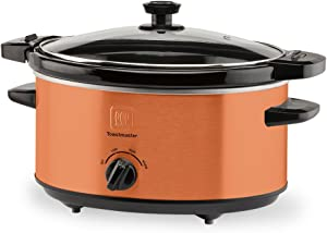 Toastmaster TM-402SCCP Slow Cooker, 4 Quart, Cooper