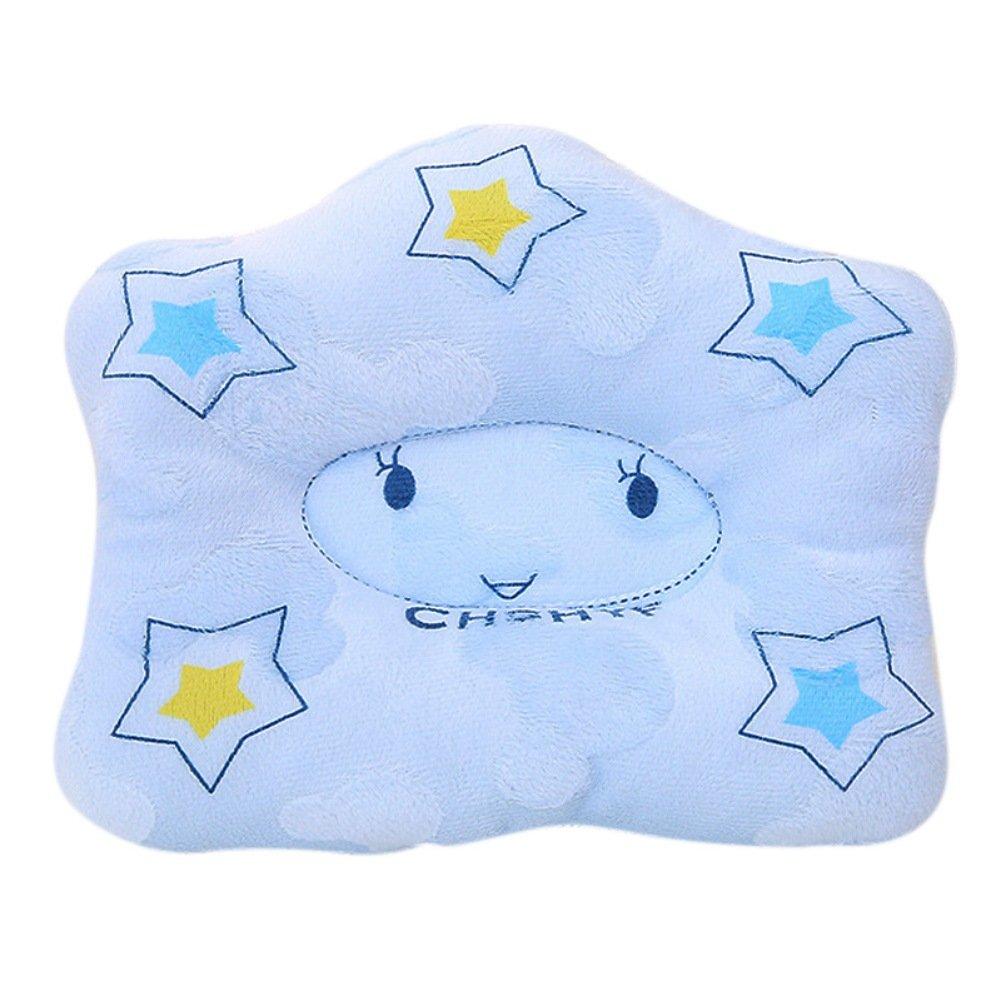 B/éb/é oreiller T/ête Forme correcte infantile b/éb/é coussin Pour B/éb/é Anti Roulis T/ête Plate Baby Pillow Flat Head Support Anti Roll