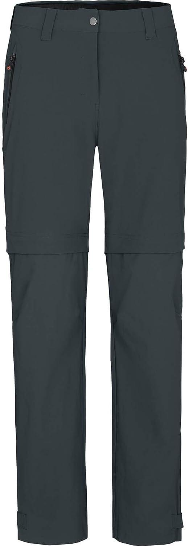 nahtfreies Sitzpolster Zip Off Radhose Verstellbarer Saum heraustrennbare Rad-Unterhose Bergson Damen Zipp-Off Radhose Blackburn