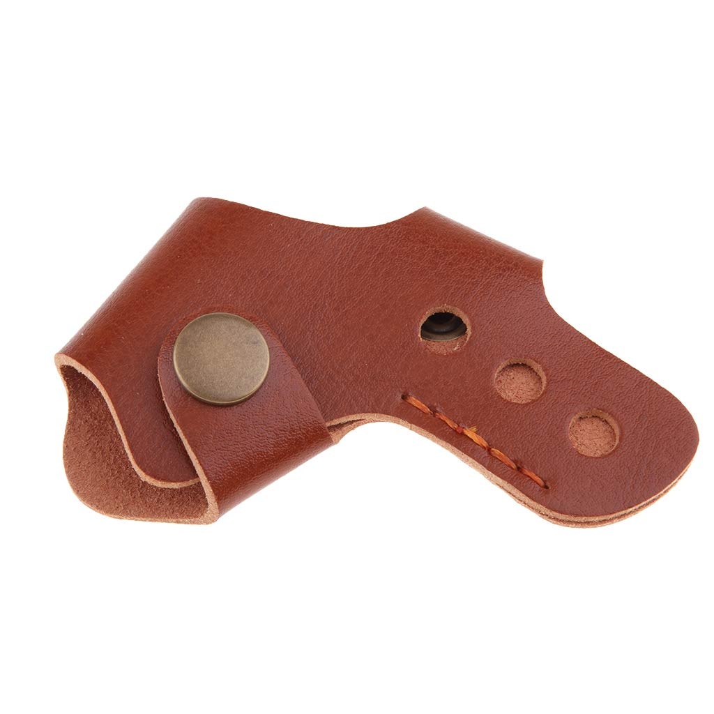 B Blesiya Motorcycle Shoe Protector Shifter Companion Boots Cover Protective Shift Pad Black