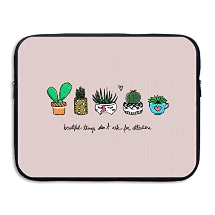 84d650a1a132 Business Briefcase Sleeve Cute Cactus Pattern Laptop Sleeve Case Cover  Handbag For 13 Inch Macbook Pro / Macbook Air / Asus / Dell / Lenovo / Hp /  ...