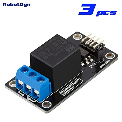 Amazon robotdyn 3 pcs relay module 1 channel operation 5v robotdyn 3 pcs relay module 1 channel operation 5v vc 10a publicscrutiny Choice Image