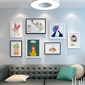 WCUI Wohnzimmer Gemälde Modern Einfachheit Wandmalerei Kreatives Sofa  Hintergrund Wandmalerei Restaurant Schlafzimmer Malerei Sehr Einfach Wind