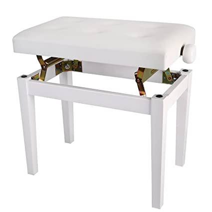 Amazoncom Neewer Padded Wooden Piano Bench And Keyboard Seat 188