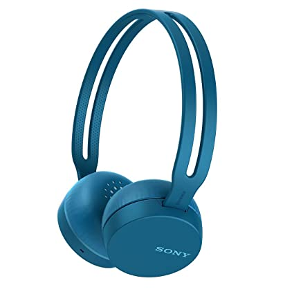 Sony Bluetooth Wireless Headphone with Microphone  Blue  Bluetooth Headsets