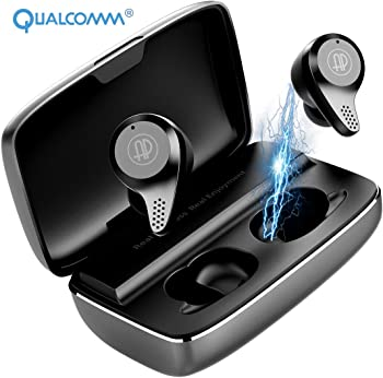 Apanage Bluetooth 5.0 Earbuds with Charging Case