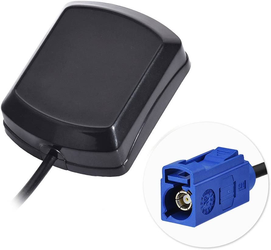 Bingfu Antena GPS de Coche Adaptador Fakra C Hembra con 3m 9.84ft Cable de extensión Antena Externa Activa Compatible con el módulo de GPS Antena de Rastreo Sistema de Navegación GPS Becker
