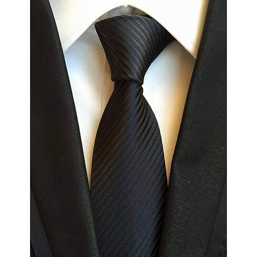 XZ Corbata de moda Nueva raya clásica Corbatas de seda coloridas ...