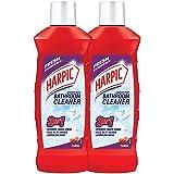 Harpic Bathroom Cleaner, Floral - 500 ml (Pack of 2)