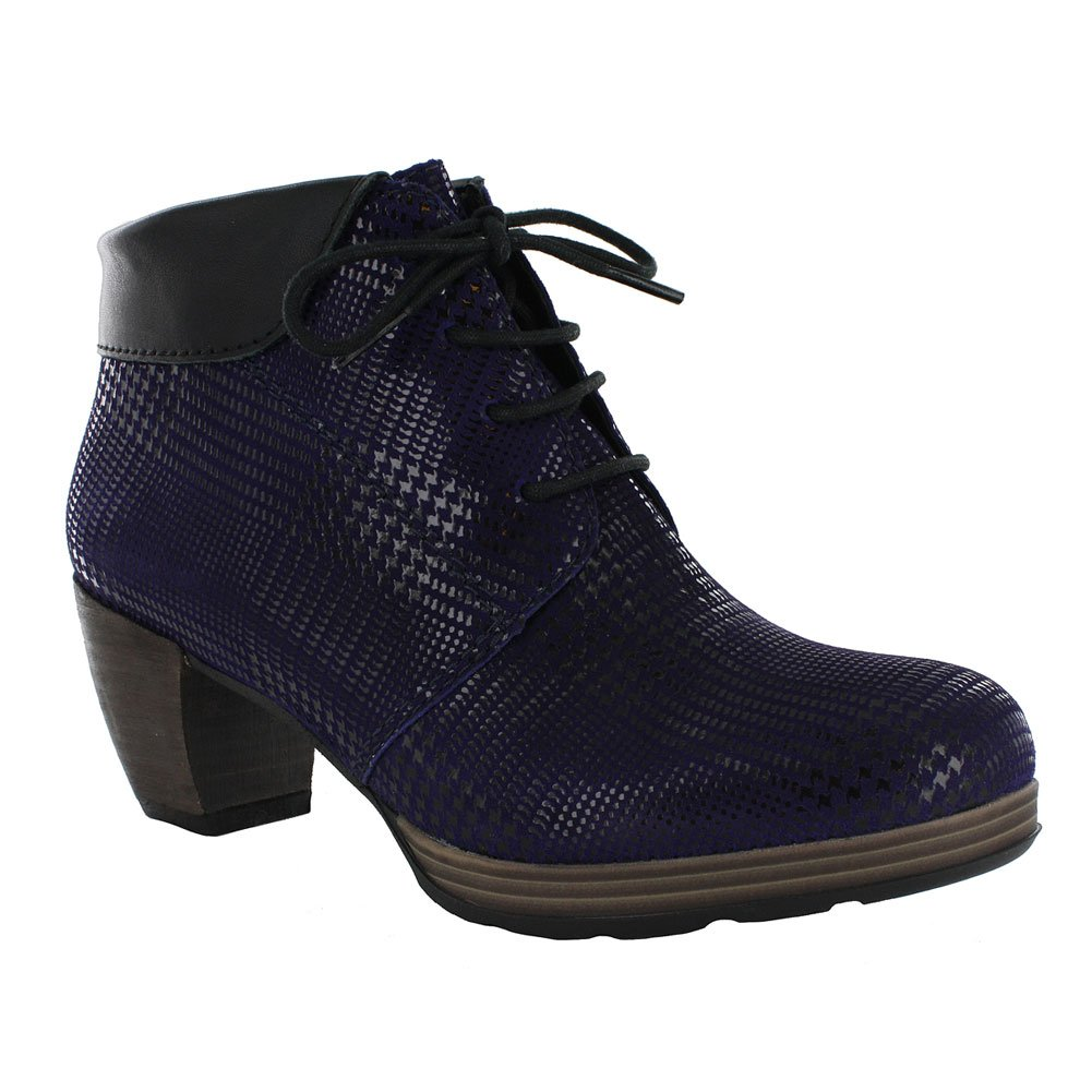 Wolky Comfort Boots 07983 Jacquerie B0135I1OSA 43 M EU|Purple/Black Dessin Suede/Mighty