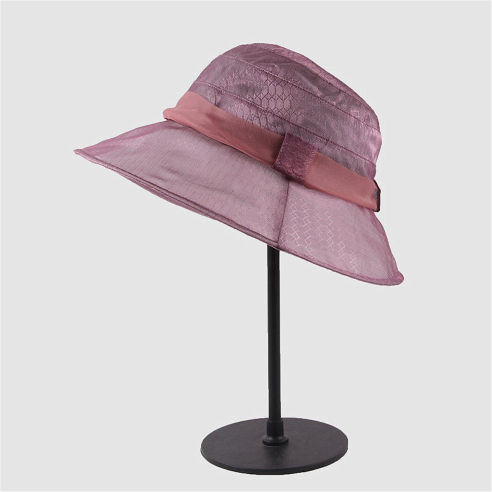 Shuo lan hu wai Der Frauen-Antiabnutzungs-Frauenhut der Frauen dünner und Heller Sonnenschutz kann den Hut Falten