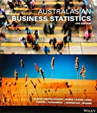 Cover of Australasian Business Statistics 4E+wileyplus Stand-alone Card